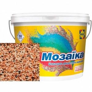 Декоративная штукатурка мозаичная Ферозит Мозаика N-220 1,6 мм 14 кг