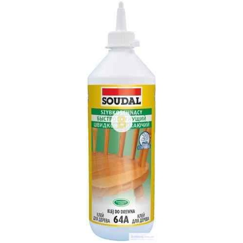 Клей для дерева SOUDAL 64A D2 250г