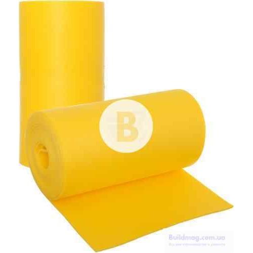 Полотно Verdani шумоизоляционное желтое 0,6х14 м 10 мм
