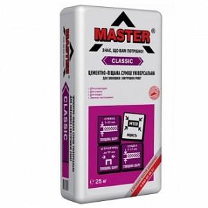 Штукатурка Master ® Классик 25 кг