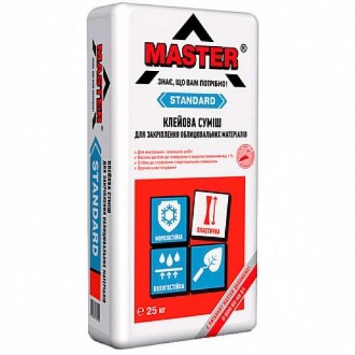 Клей для плитки Master ® Standard 25кг