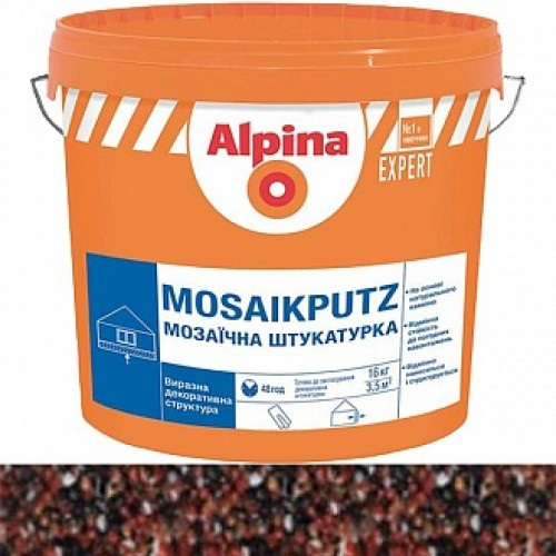 Декоративная штукатурка мозаичная Alpina Expert Mosaikputz 20 1,6-2 мм 16 кг