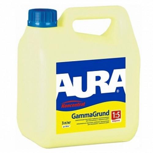 Грунтовка глубокого проникновения Aura Koncenntrat GammaGrund 3 л