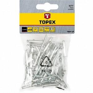 Заклепка вытяжная 4.8x18 мм 50 шт Topex