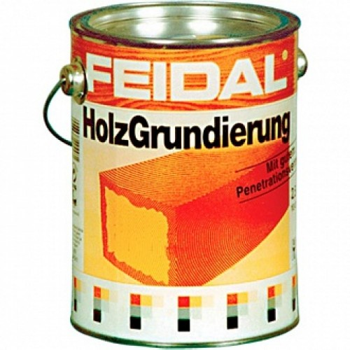 Антигрибковая грунтовка Feidal Holz Grundierung для древесины 2.5 л