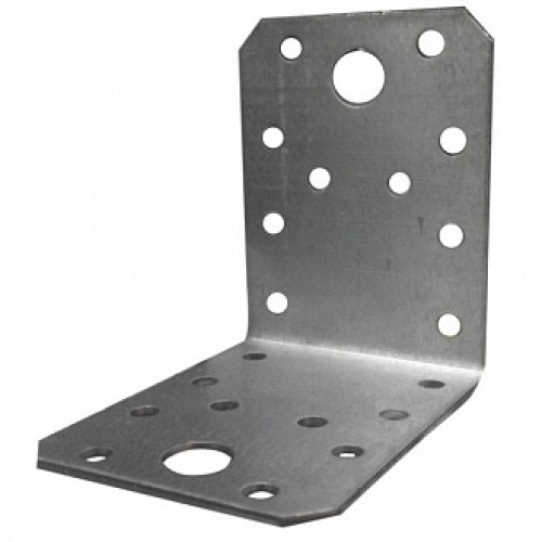 Перфорированный крепежный уголок универсальный 70x70x55мм 1,8мм