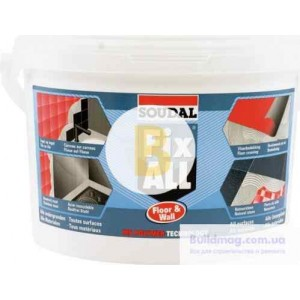 Клей-герметик SOUDAL FIX ALL Floor & Wall 4 кг белый