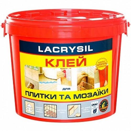 Клей для плитки и мозаики Lacrysil Круче сухих смесей 15кг