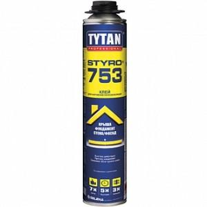 Клей-пена TYTAN О2 Styro 753 полиуретановая 750 мл
