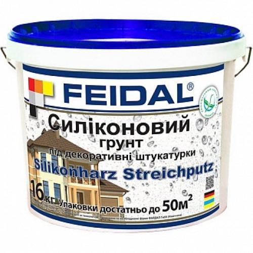 Адгезионная грунтовка Feidal Silikonharz Streichputz 8 кг