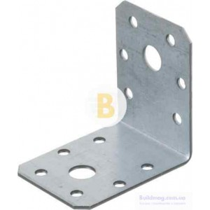 Металлический крепежный уголок 60x60x45мм 1,8мм