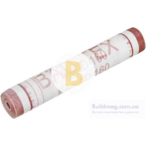 Стеклосетка штукатурная щелочестойкая BAU-TEX 5x5, 160 г/кв.м, 1х50 м
