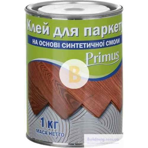 Клей для паркета Primus на основе синтетической смолы 1 кг