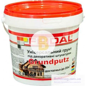 Адгезионная грунтовка Feidal Grundputz 1.4 кг
