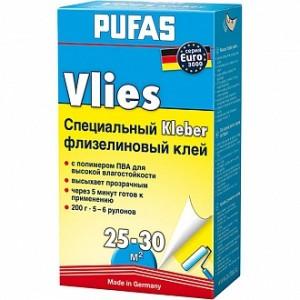 Клей для обоев PUFAS Vlies 200 г +20% в подарок
