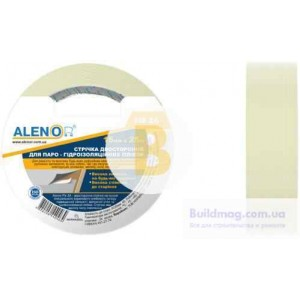 Лента двухсторонняя для склеивания гидроизоляционных пленок Alenor Fix2A 15 мм (25 м)