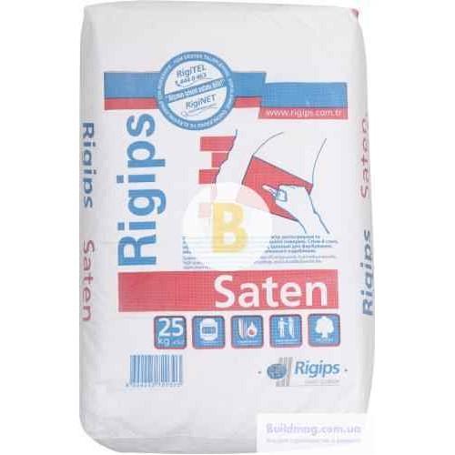 Шпаклевка Rigips финишная Saten 25 кг