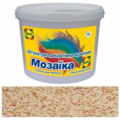 Декоративная штукатурка мозаичная Ферозит Мозаика C-015 0,8-1,2 мм 14 кг