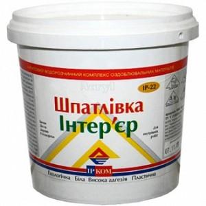 Шпаклевка Ircom Decor Интерьер универсальная 1,5 кг