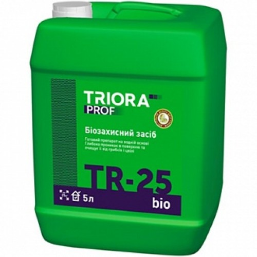 Антигрибковая грунтовка TR-25 bio 1 л