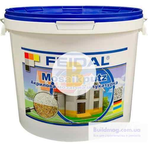 Декоративная штукатурка мозаичная Feidal Mosaikputz maxi C32 1-4 мм 25 кг