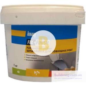 Шпаклевка ремонтная Knauf F+F для внешних работ 1 кг