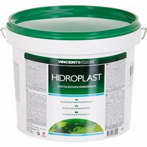 Гидроизоляция VINCENTS POLYLINE Hidroplast 4 кг зеленая