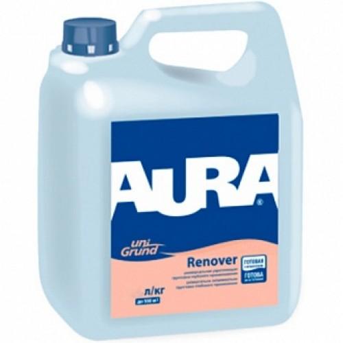 Грунтовка глубокого проникновения Aura Unigrund Renover 1 л