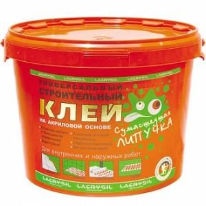 Клей монтажный универсальный Lacrysil Сумасшедшая липучка 3 кг
