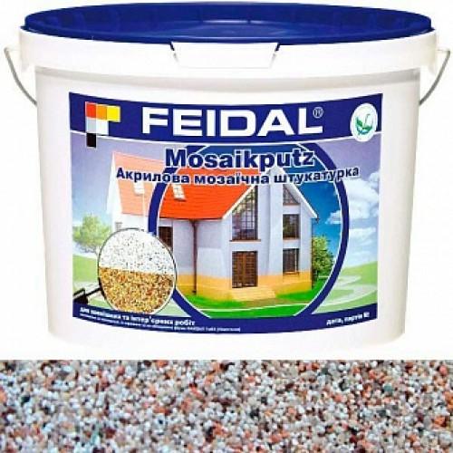 Декоративная штукатурка мозаичная Feidal Mosaikputz mini А16 0,63-2 мм 25 кг