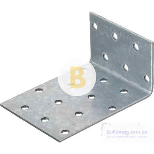 Крепежный уголок ассиметричный 80x60x40мм 1,8мм
