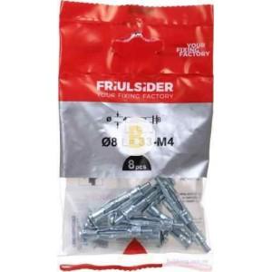 Дюбель для гипсокартона 4x41 мм 1 шт М4x41 мм Friulsider
