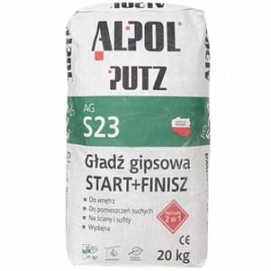 Шпаклевка Alpol 2 в 1 ALPOL Putz AG S23 20 кг