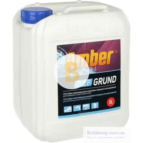 Грунтовка глубокого проникновения Amber Tief Grund 5 л