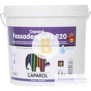 Декоративная штукатурка короед Caparol Fassadenputz R20 Transparent 2 мм 16 кг