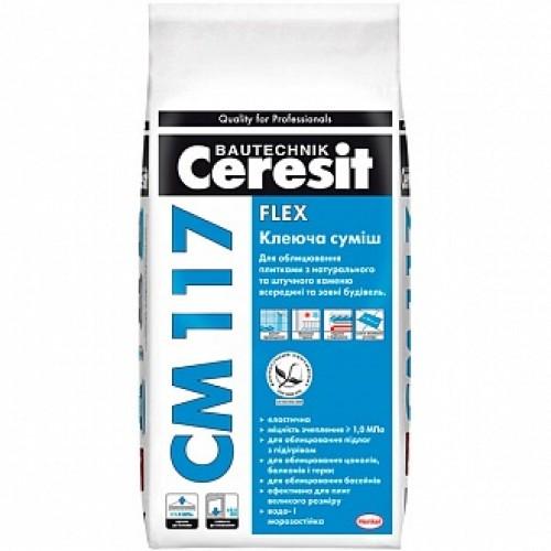Клей для плитки Ceresit СМ-117 5кг
