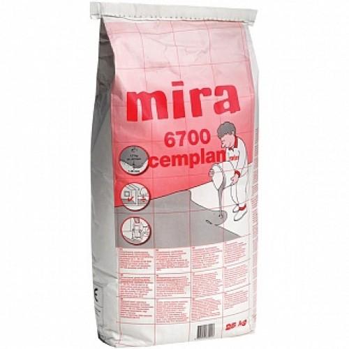 Самовыравнивающийся пол Mira 6700 cemplan 25 кг