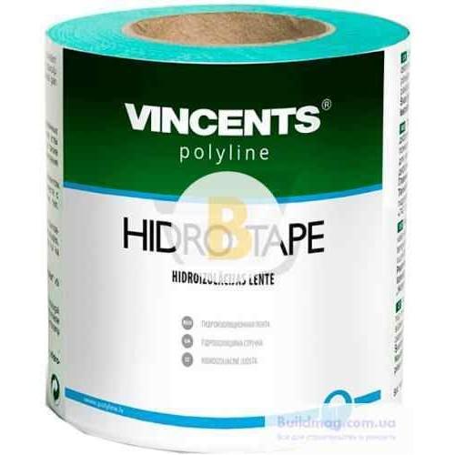 Строительная лента гидроизоляционная Hidro Tape 10см 25м