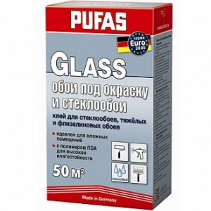 Клей для обоев PUFAS Glass 500 г