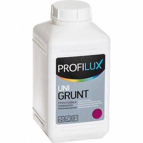 Грунтовка глубокого проникновения PROFILUX Uni Grunt Profilux 10 л
