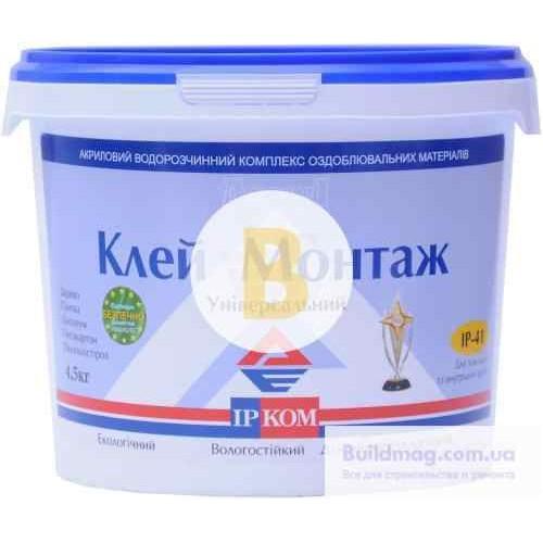 Монтажный клей ІРКОМ ИРКОМ Монтаж 4,5 кг