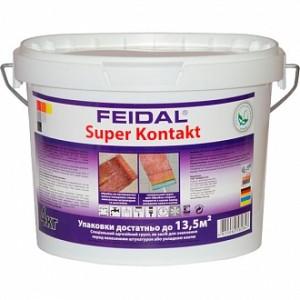 Адгезионная грунтовка Feidal Super Kontakt 4 кг