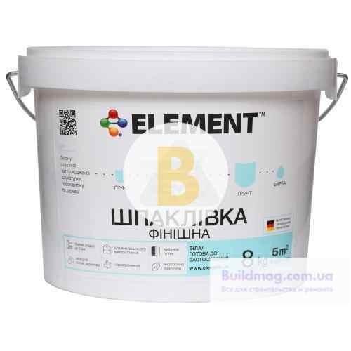 Шпаклевка Element 8 кг