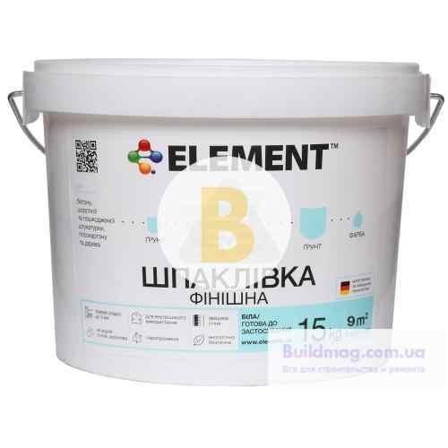Шпаклевка Element 15 кг