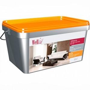 Клей для стеклообоев и стеклохолста Wellton 2,5 кг