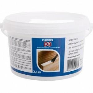 Клей для дерева D-3 Euromix 2,5 кг