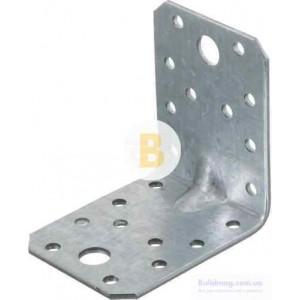 Металлический крепежный уголок наличие ребер жесткости 70x70x55мм 2,5мм