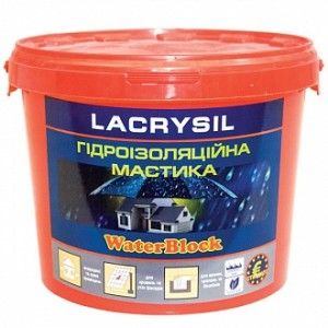 Мастика гидроизоляционная Lacrysil AQUASTOP 12 кг