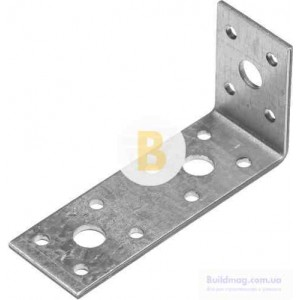 Металлический крепежный уголок универсальный 100x50x35мм 2,5мм 1 шт.
