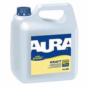 Грунтовка глубокого проникновения Aura UniGrund Kraft 10 л